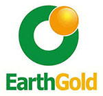 EarthGold 150 square logo